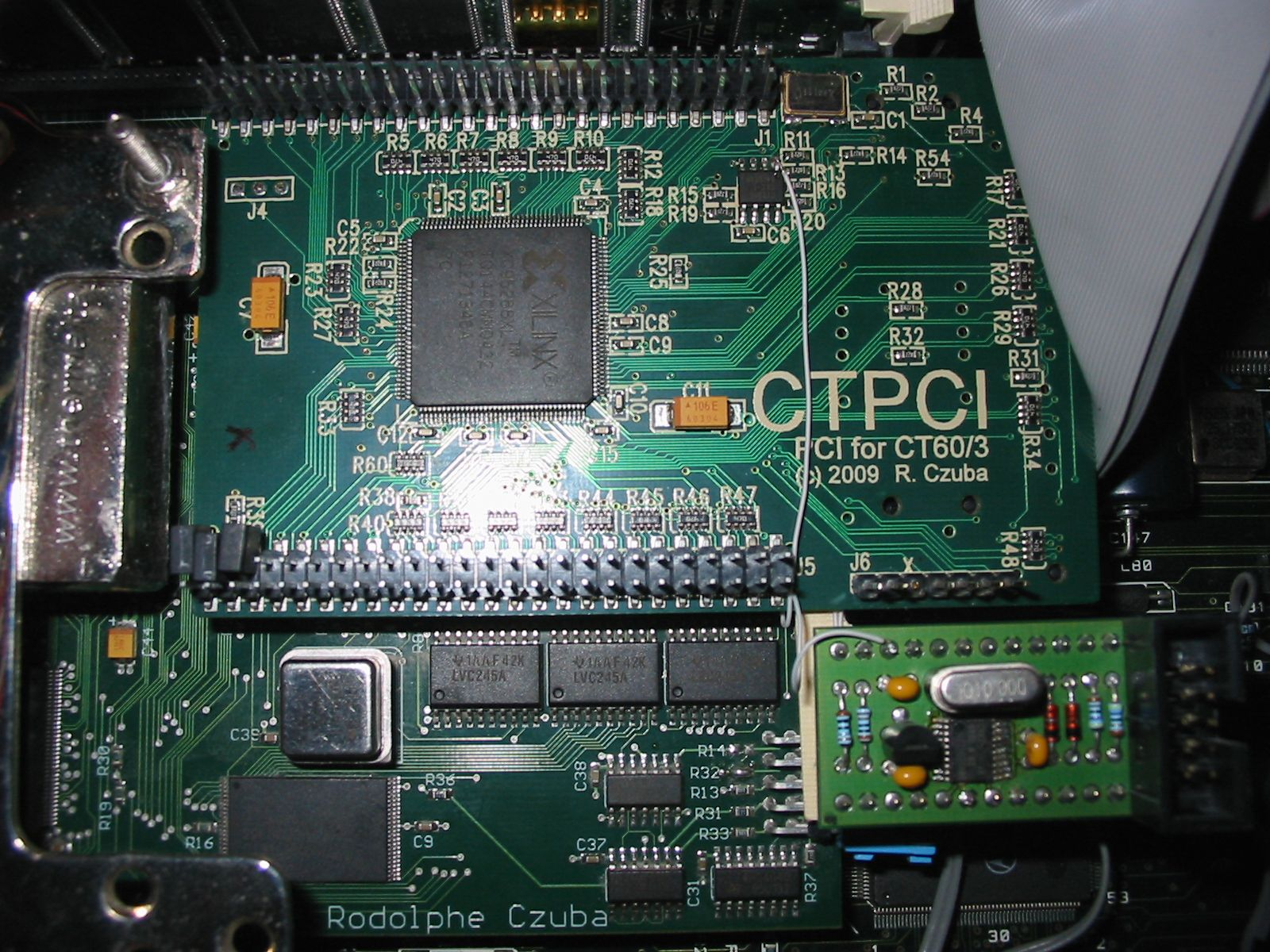 pilote carte via pci 10 100mo fast ethernet